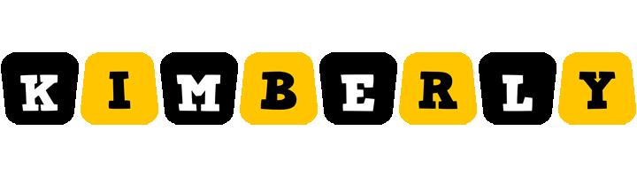 Kimberly boots logo