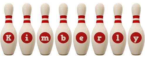 Kimberly bowling-pin logo