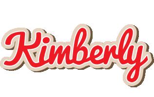 Kimberly chocolate logo