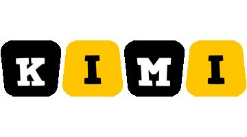 Kimi boots logo