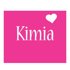 Kimia love-heart logo