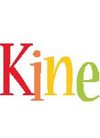 Kine birthday logo