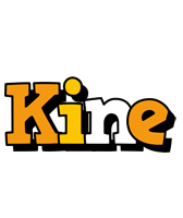 Kine cartoon logo