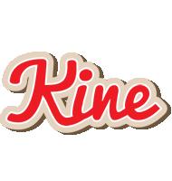 Kine chocolate logo