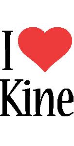 Kine i-love logo