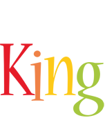 King birthday logo