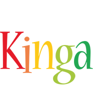 Kinga birthday logo