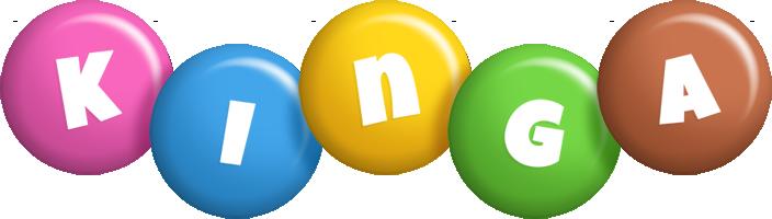 Kinga candy logo