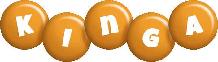 Kinga candy-orange logo