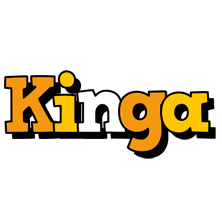 Kinga cartoon logo