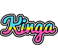 Kinga circus logo