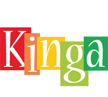 Kinga colors logo