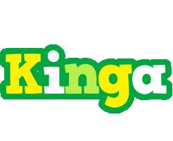Kinga soccer logo
