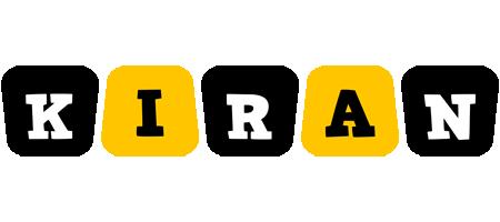 Kiran boots logo