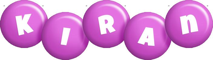 Kiran candy-purple logo