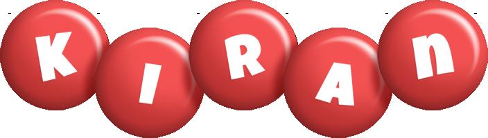 Kiran candy-red logo