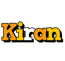 Kiran cartoon logo