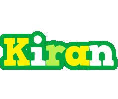Kiran soccer logo