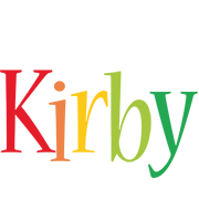Kirby birthday logo