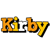 Kirby cartoon logo