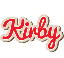 Kirby chocolate logo