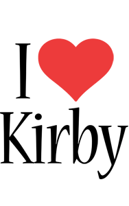 Kirby i-love logo