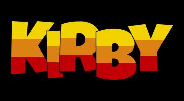 Kirby jungle logo