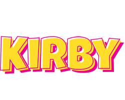 Kirby kaboom logo