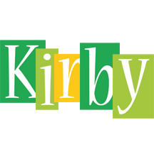 Kirby lemonade logo