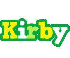 Kirby soccer logo