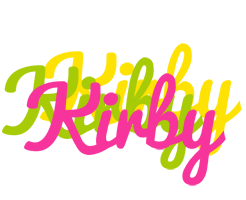 Kirby sweets logo