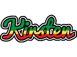 Kirsten african logo