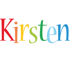 Kirsten birthday logo