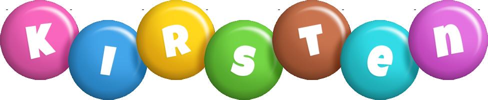 Kirsten candy logo
