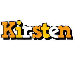 Kirsten cartoon logo