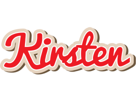 Kirsten chocolate logo