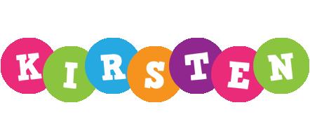 Kirsten friends logo