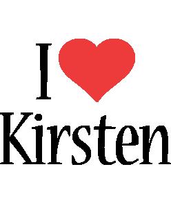 Kirsten i-love logo