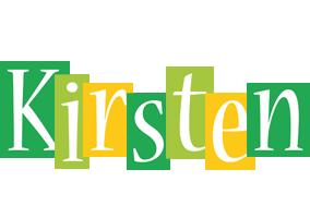 Kirsten lemonade logo