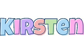 Kirsten pastel logo