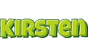 Kirsten summer logo