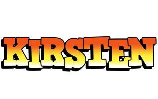 Kirsten sunset logo
