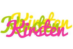 Kirsten sweets logo