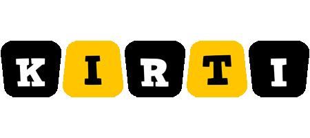 Kirti boots logo