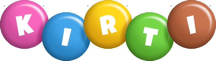 Kirti candy logo