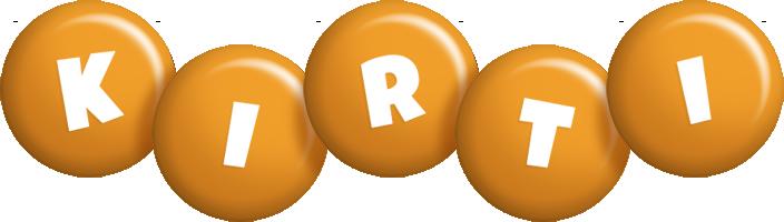 Kirti candy-orange logo