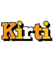 Kirti cartoon logo