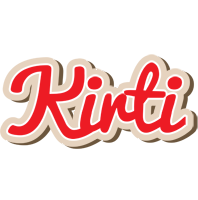 Kirti chocolate logo