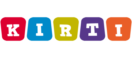 Kirti daycare logo