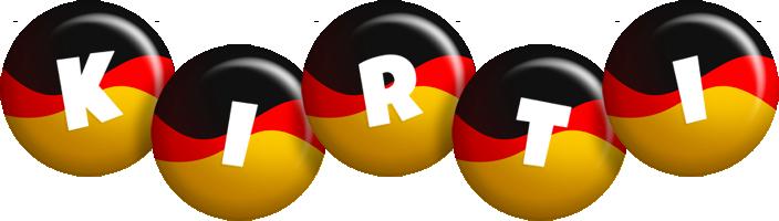 Kirti german logo